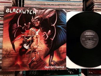 BLACKWYCH  OUT OF CONTROL  VERY RARE LP 1986 METAL MASTERS ( UK ) !!!