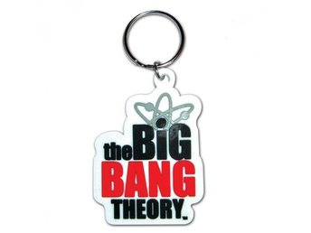Big Bang Theory Nyckelring Logo