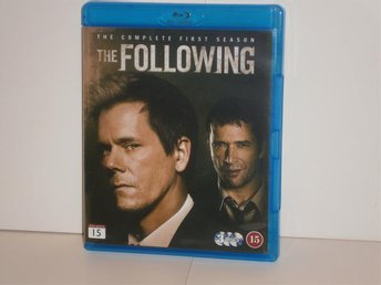 THE FOLLOWING - SÄSONG 1 (Blu-ray), (3 DISK) - MKT FINT SKICK!