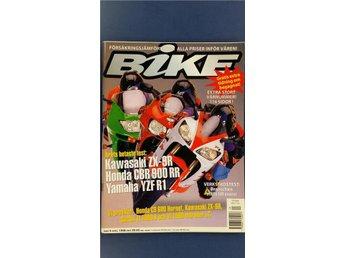 Bike nr 4 1998: Suzuki VL 1500, Honda CB 600 SF, Kawasaki ZX-6R, CBR 900 RR - Uppsala - Bike nr 4 1998: Suzuki VL 1500, Honda CB 600 SF, Kawasaki ZX-6R, CBR 900 RR - Uppsala