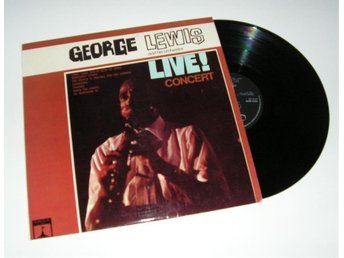 George Lewis and hos orchestra LP
