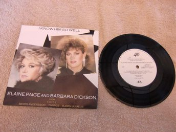 Ellen Paige and Barbara Dickson - I know him so well, vinylsingel