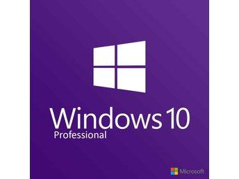 Windows 10 PRO 32/64-Bit Licens - Vimmerby - Windows 10 PRO 32/64-Bit Licens - Vimmerby