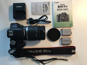 Canon 500D with 18-200 lens