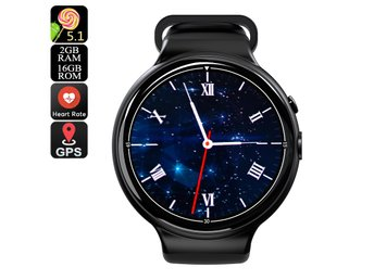 I4 Air Smart Watch Phone - 1 IMEI, 3G, 5MP Camera, WiFi, Calls, Messages, Social