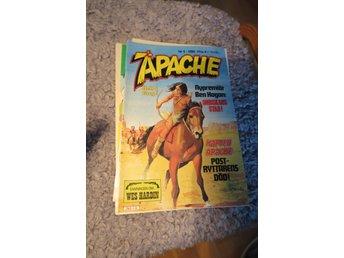 APACHE,TOMAHAWK,WES HARDIN,BEN HOGAN,KAPTEN APACHE - Upplands Väsby - APACHE ! BEN HOGAN! NR 6, 1980, SANNINGEN OM WES HARDIN! MYCKET BRA SKICK! JAG SAMFRAKTAR! - Upplands Väsby