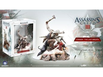 Assassin's Creed III PVC Statue Connor The Last Breath 28 cm NYTT o INPLASTAT
