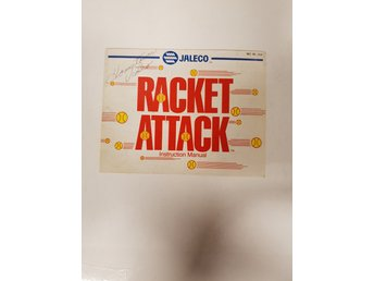 Racket Attack - Manual NES NINTENDO - USA