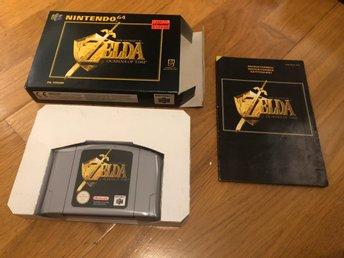 Zelda Ocarina of Time CIB - N64