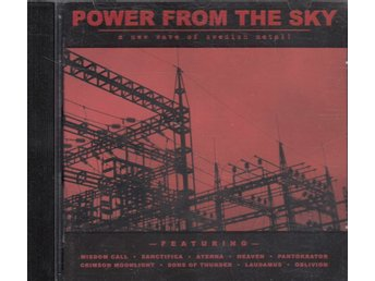 CD - Div - Power From The Sky - A New Wave Of Swedish Metal! - C.L. Music & Publ
