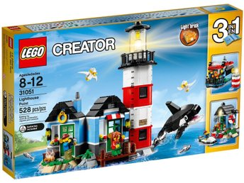 "LEGO Creator 31051 ""Lighthouse Point / Fyr"" - helt ny / oöppnad!"