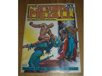 TUNG METALL NR 2 1986 Fint skick