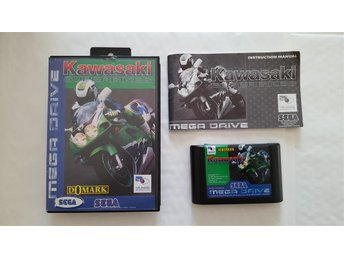 Kawasaki Superbikes- Komplett Sega MegaDrive - Gustavsberg - Kawasaki Superbikes- Komplett Sega MegaDrive - Gustavsberg