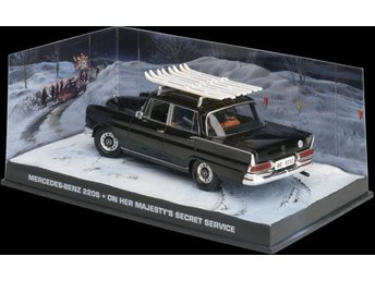 James Bond Collection - 1/43 scale - Mercedes MB 220S - On her Majesty's Service
