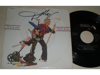 Dolly Parton 45/PS 9 To 5 US 1980