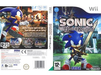Sonic And The Black Knight Nintendo Wii
