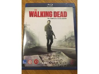 The walking dead säsong 5 Blue ray