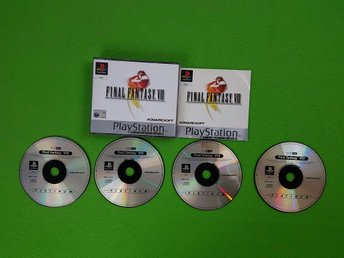 Final Fantasy VIII 8 KOMPLETT I FINT SKICK Playstation ps1