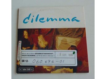 DILEMMA - I DET BLÅ CD EP