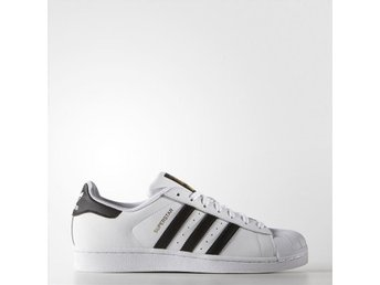 OMBLOGGADE! NYA! Adidas Superstar originals sneakers - Vit 37,5