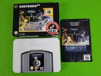 Star Wars Shadow of the Empire KOMPLETT N64 Nintendo 64