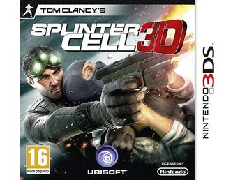 Tom Clancy's Splinter Cell 3D (Nytt)
