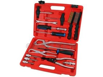 15pc Comprehensive Brake Service Tool Set complete mechanics tool set