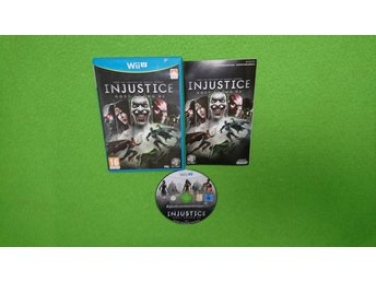 Injustice God Among Us Nintendo Wii U Nintendo WiiU