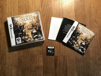 LORD OF THE RINGS CONQUEST  NINTENDO DS BRA  SKICK