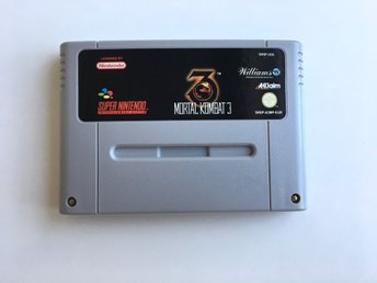 Mortal Kombat 3 - Super Nintendo SNES - PAL