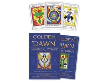 Golden Dawn Magical Tarot, Set