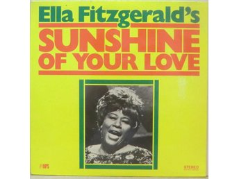ELLA FITZGERALD's Sunshine Of Your Love / LP