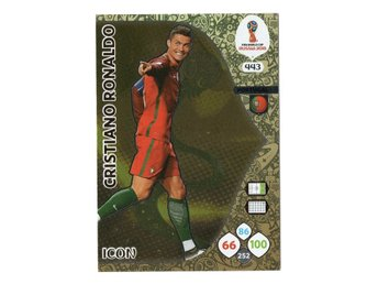 2018 Panini Adrenalyn XL FIFA World Cup Russia Icon Cristiano Ronaldo