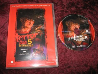 TERROR PÅ ELM STREET 5 THE DREAM CHILD (ROBERT ENGLUND,LISA WILCOX) DVD