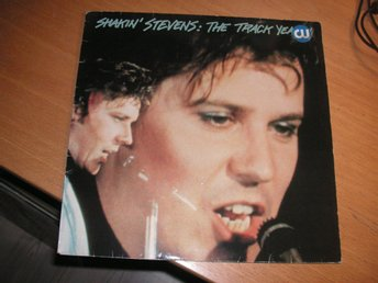 SHAKIN´ STEVENS The Track Years Svensk LP original Frituna 1983