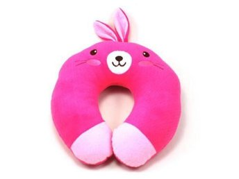 NY! Rabbit Soft Neck Rest Kudde Car Travel Pillow Portable
