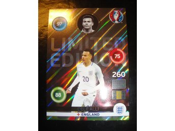 Panini Adrenalyn XL EURO 2016 - Limited Edition - DELE ALLI - England
