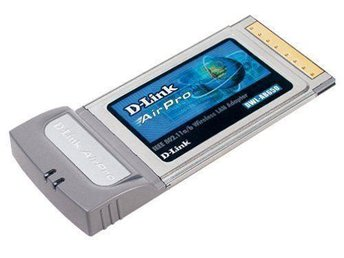 DWL-AB650 Multimode 5/2.4GHz (802.11a/802.11b) Dualband WIFI PC Kort PCMCIA