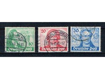 Berlin stämplat Michel 61-63 - Halmstad - Berlin stämplat Michel 61-63 - Halmstad