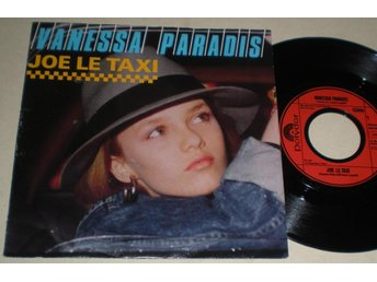 Vanessa Paradis 45/PS Joe le taxi 1987 VG++