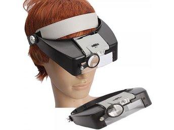 Upp till 10X förstoringsglas Headset lupp förstoring Lens - Sävedalen - Upp till 10X förstoringsglas Headset lupp förstoring Lens - Sävedalen
