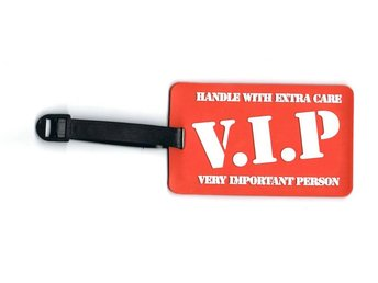 V.I.P Bagagetag / Addresstag / Luggage tag