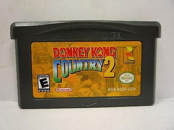 Donkey Kong Country 2 - Gameboy Advance