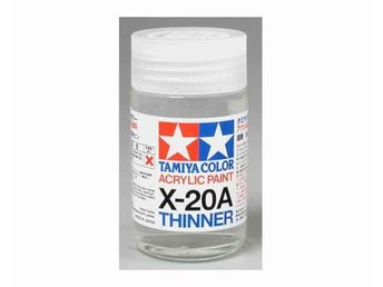 Tamiya Thinner X-20A,, 46ml