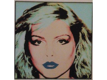 ANDY WARHOL - DEBBIE HARRY - QUADRICROMIE - ART 18 - BASEL 1987 - EDITION 1000