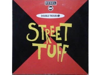"Rebel MC, Double Trouble title* Street Tuff* Club, Hip-House 12"" UK"