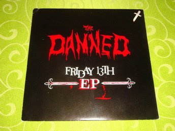 DAMNED THE - FRIDAY 13TH EP 1981