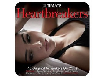 Ultimate Heartbreakers (Digi) (2 CD) - Nossebro - LÅTLISTA:1.Rhythm of the rain2.Make it easy on yourself3.For the good times4.Leader of the pack5.I smiled yesterday6.Sad mood7.Only the lonely8.Seven day fool9.Love me or leave me10.Heartbreak hotel11.I fall to pieces12.My heart belongs to you - Nossebro
