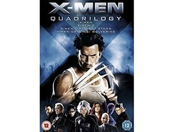 X-Men Quadrilogy - DVD Box