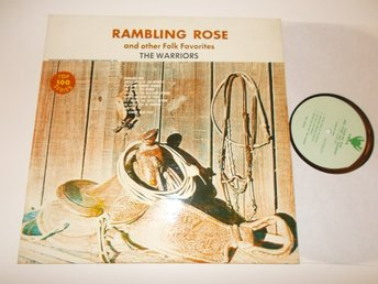 THE WARRIORS - Rambling Rose, LP Viking Australien? 60-tal